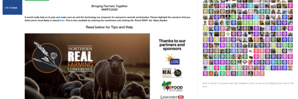 Northern Real Farming Conference next steps